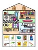 Interactive Category Books: What's in my house?
