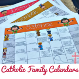 Interactive Catholic Monthly Calendars