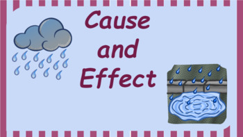 Interactive Cause and Effect Activity