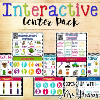Interactive Center Set for Primary Learners