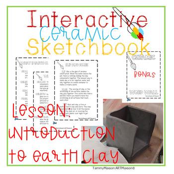 Interactive Ceramics Sketchbook: Introduction Lesson
