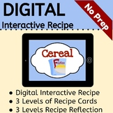 Interactive Cereal Recipe: DIGITAL VERSION (No Prep!)