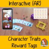 Interactive Character Traits Reward Tags