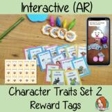 Interactive Character Traits Reward Tags Set 2