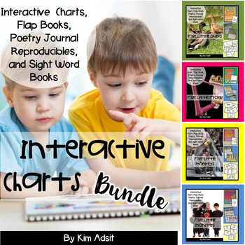 Sight Word Readers and Interactive Charts-Bundle