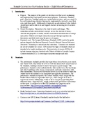 Interactive Chemistry Curriculum Guide
