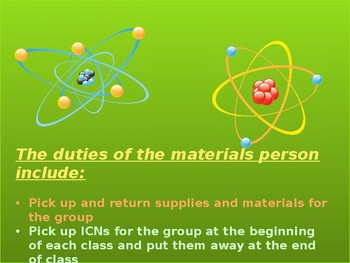 Interactive Chemistry/ Science Notebook Set Up
