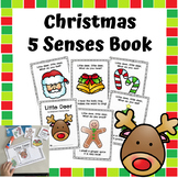 Christmas 5 Senses Book, Interactive