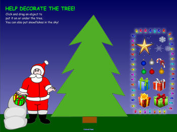 Interactive Christmas Tree for SMART Board