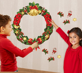 Interactive Christmas Wreath Wall Play Set