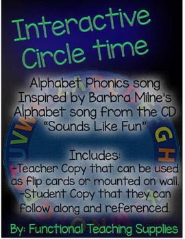 Interactive Circle Time Alphabet Phonics Song