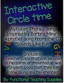 Interactive Circle Time Alphabet Phonics Song