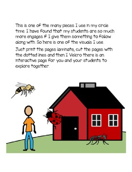 Interactive Circle Time: Ant Bug and Bee