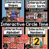 Interactive Circle Time BUNDLE (Preschool, Sped, Kindergarten)