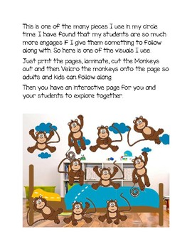 Interactive Circle Time Monkey's Jumping on the Bed