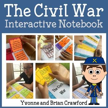 Interactive Civil War Notebook