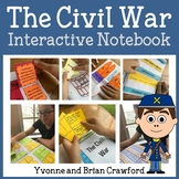 Civil War Interactive Notebook with Scaffolded Notes