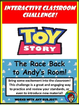 Interactive Classroom Challenge, Room Transformation, ANY subject or standard 1