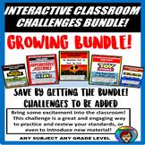 Interactive Classroom Challenge, Room Transformation, **GROWING BUNDLE**