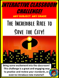 Interactive Classroom Challenge, Room Transformation,  Reading and math review