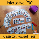Interactive Classroom Reward Tags for Behaviour