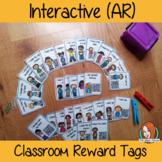 Interactive Classroom Reward Tags for Behaviour