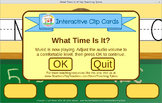Telling Time Interactive Game