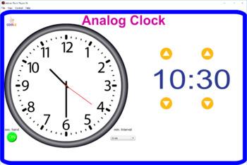 Interactive Clock Flash Card(s)