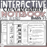 Interactive Close Reading Notebook ~Common Core Aligned~gr