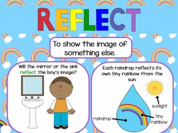 Interactive Close Reasing Flipchart About Rainbows for ActivInspire