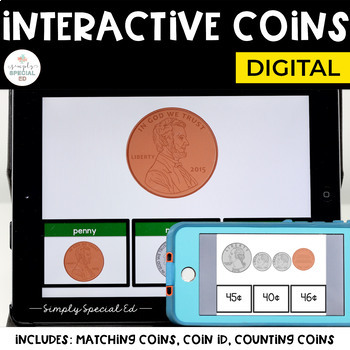 Interactive Coins (for Special Education)