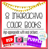 Interactive Color Books: Functional, Real Photos