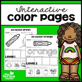 Interactive Color Pages