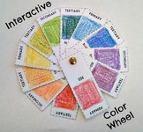 Interactive Color Wheel Lesson Art Project Element of Art Color Mixing Colors