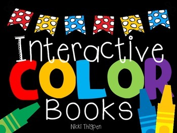Interactive Color Word Books