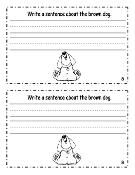 "Interactive Color Word Reader- ""My Dog Is BROWN"""