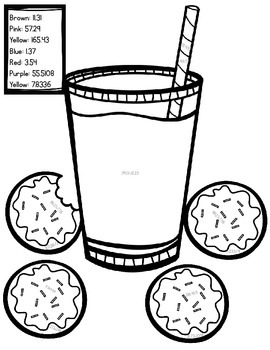 Interactive Coloring Sheet -- CCSS Aligned to NBT 7