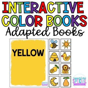 Interactive Books:  Color Bundle