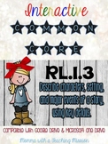 Interactive Common Core RL.2.3 Passages with Comprehension
