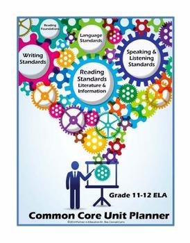 Grade 11-12: Interactive ELA Common Core Unit Planner w/Dropdown Standards
