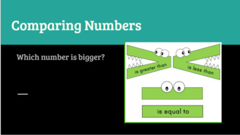 Google Classroom- Math Centers: Interactive Comparing numbers Activities