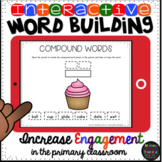 Interactive Compound Word Building Word Work for Google Dr