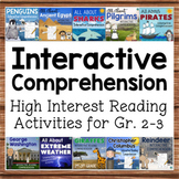 Interactive Reading Comprehension BUNDLE Science Social Studies