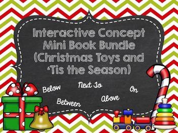 Interactive Concept Mini Book Bundle (Christmas Toys and 'Tis the Season)