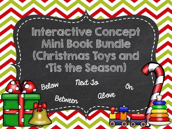 Interactive Concept Mini Book Bundle (Christmas Toys and '