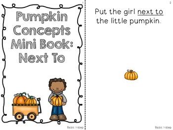 Interactive Concept Mini Book Bundle: Scarecrow and Pumpkins