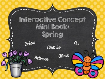 Interactive Concept Mini Book: Spring