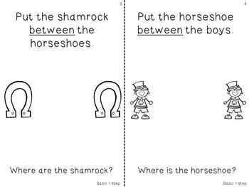 Interactive Concept Mini Book: St. Patrick's Day