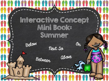 Interactive Concept Mini Book: Summer
