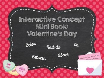Interactive Concept Mini Book: Valentine's Day